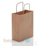 Brązowa torba LUX papierowa (3 rozmiary do wyboru) Brązowa torba LUX papierowa (3 rozmiary do wyboru) w sklepie internetowym Fotokoszyk.pl