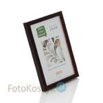 Ramka drewniana Pinia ciemny brąz (na zdjęcie 13x18 cm) Ramka drewniana Pinia ciemny brąz (na zdjęcie 13x18 cm) w sklepie internetowym Fotokoszyk.pl