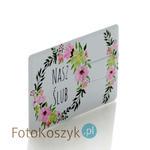 Pendrive karta kredytowa Nasz Ślub kwiaty (do wyboru pojemność 2-32 GB) Pendrive karta kredytowa Nasz Ślub kwiaty (do wyboru pojemność 2-32 GB) w sklepie internetowym Fotokoszyk.pl