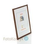 Ramka drewniana średni brąz 3 (na zdjęcie 21x30 cm) Ramka drewniana średni brąz 3 (na zdjęcie 21x30 cm) w sklepie internetowym Fotokoszyk.pl