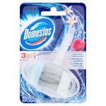 Domestos 3w1 Silver Splash Kostka toaletowa 40g w sklepie internetowym InternetowySupermarket.pl