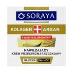 Soraya Kolagen + Argan Nawilżający krem przeciwzmarszczkowy na dzień i na noc 50ml w sklepie internetowym InternetowySupermarket.pl