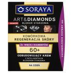 Soraya Art&Diamonds Komórkowa Regeneracja Skóry 60+ Odbudowujący krem na dzień 50ml w sklepie internetowym InternetowySupermarket.pl