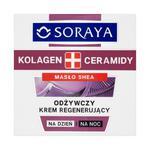 Soraya Kolagen + Ceramidy Odżywczy krem regenerujący na dzień i na noc 50ml w sklepie internetowym InternetowySupermarket.pl