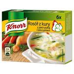 Knorr Rosół z kury z pietruszką i lubczykiem 60g (6 kostek) w sklepie internetowym InternetowySupermarket.pl