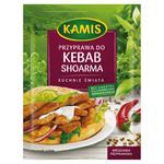 Kamis Kuchnie świata Przyprawa kuchni arabskiej kebab shoarma Mieszanka przyprawowa 25g w sklepie internetowym InternetowySupermarket.pl