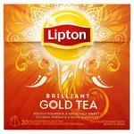 Lipton Brilliant Gold Tea Herbata czarna aromatyzowana 38g (20 torebek) w sklepie internetowym InternetowySupermarket.pl