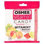 Oshee Vitamin Candy Multifruit Karmelki twarde o smaku owocowym Suplement diety 90g w sklepie internetowym InternetowySupermarket.pl