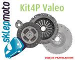 Zestaw Valeo sztywne koło zamachowe + sprzęgło Skoda Octavia II 2.0 w sklepie internetowym Sklepmoto.eu