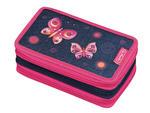 Piórnik potrójny z wyposa Butterfly Dreams HERLITZ - Butterfly Dreams w sklepie internetowym DzieciakwSzkole