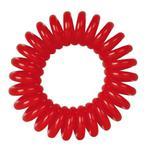 Fox gumki Spring Hair Ring czerwone - Gumki do włosów Fox Spring Hair Ring Czerwone 3szt. w sklepie internetowym Kalamis.pl