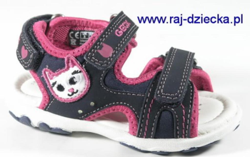 1ce7f870 Geox Buty dla dzieci B5290A 05015 C4268 Morski Fuksja w sklepie  internetowym RAJ-Dziecka. Powiększ zdjęcie