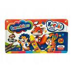 Kredki Bambino 24 kolory - metalowe opakowanie w sklepie internetowym Świat Artysty