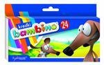 Kredki Bambino 24 kolory w sklepie internetowym Świat Artysty