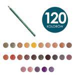 Kredki artystyczne POLYCHROMOS 9201 Faber-Castell - 120 kolorów na sztuki w sklepie internetowym Świat Artysty