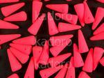 Spike Beads Neon Pink 13x5 mm - 10 sztuk w sklepie internetowym Kadoro.pl