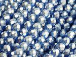 FP 6mm Capri Blue Frosted Pearl - 20 sztuk w sklepie internetowym Kadoro.pl