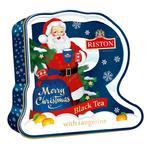 RISTON Merry Christmas Św Mikołaj Tea 100g czarna herbata liściasta aromatyzowana w sklepie internetowym kawyiherbaty.com.pl