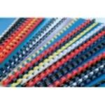 Grzbiety do bindowania 6 mm, 100 szt. czarny ARGO w sklepie internetowym Dla Biura Zakupy