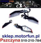 Kierunkowskazy LED trapez z homologacją w sklepie internetowym Motorfun