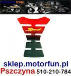 Tankpad Naklejka na Zbiornik SPORT CZERWONY w sklepie internetowym Motorfun