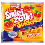 nimm2 Śmiejżelki Sokki - nadziewane żelki owocowe wzbogacone witaminami oraz sokiem owocowym w sklepie internetowym E-Szop