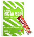 FITNESS AUTHORITY Xtreme BCAA 5000 800 g + FITNESS AUTHORITY WOW Protein Bar 60 g w sklepie internetowym Sport-Max
