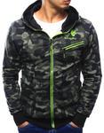 Bluza męska rozpinana woodland camo (bx3081) - Woodland camo ciemny w sklepie internetowym Dstreet.pl