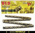 DID 530VX G&B-112LE ogniw łańcuch napędowy X-RING ZŁOTY ZAKUTY DID530VX G&B-112LE ogniw łańcuch napędowy X-RING ZŁOTY ZAKUTY sklep motocyklowy MOTORUS.PL w sklepie internetowym Motorus.pl