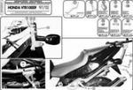 KAPPA K2510 stelaż kufra centralnego Honda VTR1000F 97-04 KAPPA najlepsze ceny na stelaż pod kufer centralny w sklepie motocyklowym MOTORUS.PL w sklepie internetowym Motorus.pl
