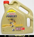 CASTROL Power1 20W50 4T motocyklowy silnikowy olej mineralny 4Litry CASTROL oleje i chemia motocyklowa SUPER CENY sklep motocyklowy MOTORUS.PL w sklepie internetowym Motorus.pl