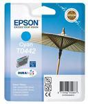 oryginalny atrament Epson [T0442] cyan w sklepie internetowym GlobalPrint.pl
