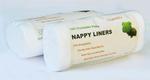 biodegradowalne bibułki do pieluszek wielorazowych 100szt. - super miękkie w sklepie internetowym Lulajbaby.com
