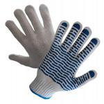Rękawice dziane nakrapiane PCV R452 Wave ( 12 par ) w sklepie internetowym Roboczy24.pl