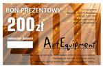 Bon prezentowy o wartości 200zł w sklepie internetowym ArtEquipment.pl