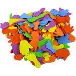 Kolorowe kształty z pianki eva - DŁONIE I STOPY - 150 szt w sklepie internetowym ArtEquipment.pl