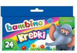 Kredki świecowe BAMBINO 24 kolory w sklepie internetowym ArtEquipment.pl