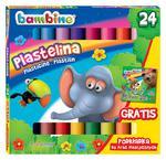 BAMBINO Plastelina 24 kolory + podkładka gratis w sklepie internetowym ArtEquipment.pl