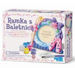 Odlewy gipsowe - Ramka z  Baletnicą 4M w sklepie internetowym ArtEquipment.pl