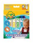 Flamastry spieralne 8 szt Mini Kids CRAYOLA w sklepie internetowym ArtEquipment.pl