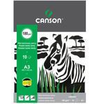 Blok techniczny z czarnymi kartkami A3 CANSON w sklepie internetowym ArtEquipment.pl