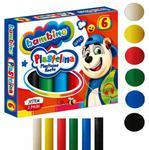 Plastelina BAMBINO 6 kolorów (01727) w sklepie internetowym Tornistry.com.pl