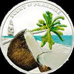 Palau - 2009, 5 dolarów - Zapach raju - Orzech Kokosa, moneta z zapachem w sklepie internetowym Numizmatyka24.pl