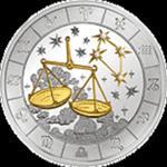Rwanda - 2009, 1000 Francs - Znaki zodiaku - Waga - Libra w sklepie internetowym Numizmatyka24.pl