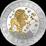 Rwanda - 2009, 1000 Francs - Znaki zodiaku - Lew - Leo w sklepie internetowym Numizmatyka24.pl