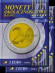 Albumy na monety Okolicznościowe 2 Euro (tom 1 i 2) w sklepie internetowym Numizmatyka24.pl