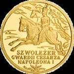 200 zł 2010 Historia Jazdy Polskiej - Szwoleżer Gwardii Cesarza Napoleona I w sklepie internetowym Numizmatyka24.pl