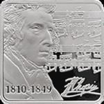 Niue - 2010, 1 dolar - Fryderyk Chopin - 200. rocznica urodzin w sklepie internetowym Numizmatyka24.pl