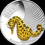 Australia - 2010, 50 cents - Sea Horse - Konik morski - Życie morskie rafy w sklepie internetowym Numizmatyka24.pl