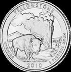 25 Centów 2010 - Yellowstone National Park - Wyoming (D) w sklepie internetowym Numizmatyka24.pl